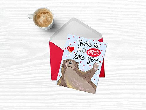 Tarjeta - Otter