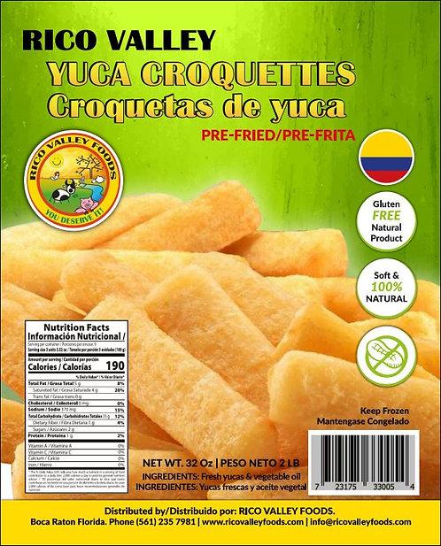 Yuca Croquettes