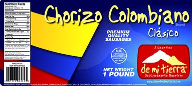 Chorizo Colombiano ~ Colombian Sausage