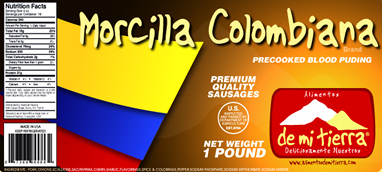 Morcilla Colombiana ~ Colombian Blood Sausage