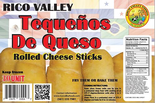 Mini Tequeños De Queso~ Rolled Cheese Sticks Mini