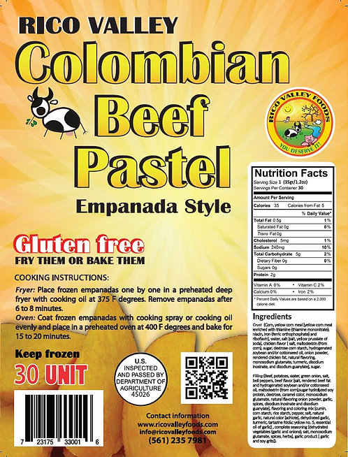 Empanada Colombiana De Carne Mini  ~ Colombian Beef Mini Empanada