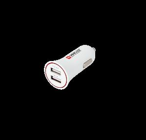 雙 USB 插口汽車充電器