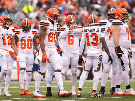 Kdor laja, ne grize: Cleveland Browns in umetnost izgubljanja