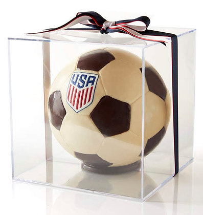 Regulation Sized Chocolate Soccer Ball