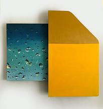 """""""SkyLight"""", Oil, canvas, wood, acrylic,"""