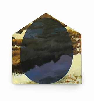 """""""Once Ago"""", Oil, Acrylic, wood, canvas ("""