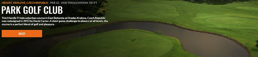 Park golf Trackman Course