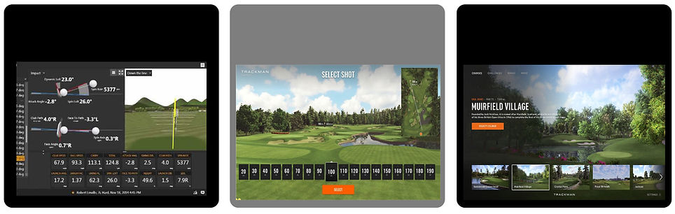 Golf courses, trackman, data, golf data, shot anlaysis, muirfield village, driving range, golf balls, PXG, Srixon, rose creek, edmond, oklahoma, OKC golf, Oklahoma golf
