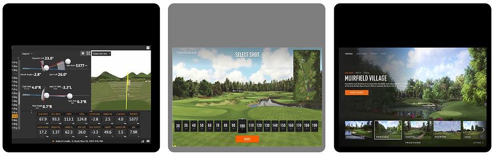Golf courses, trackman, data, golf data, shot anlaysis, muirfield village, driving range, golf balls, PXG, Srixon, rose creek, edmond, oklahoma, OKC golf, Oklahoma golf