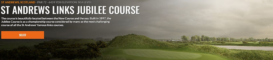 St. Andrews Jubilee Trackman Course