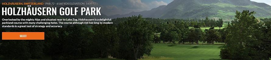 Holzhausern Golf Park Trackman course