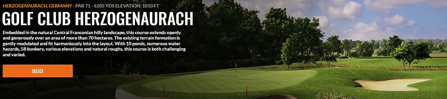 Golf Club Herzogenaurach Trackman course