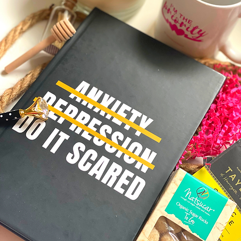 Anxiety, Depression, Do It Scared Journal Kit