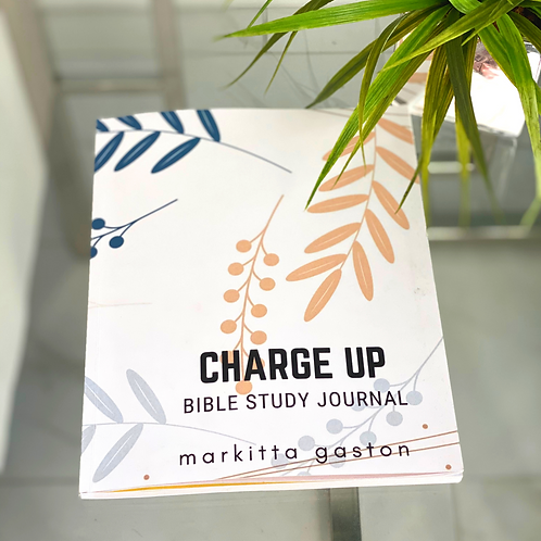 Charge Up: Bible Study Journal