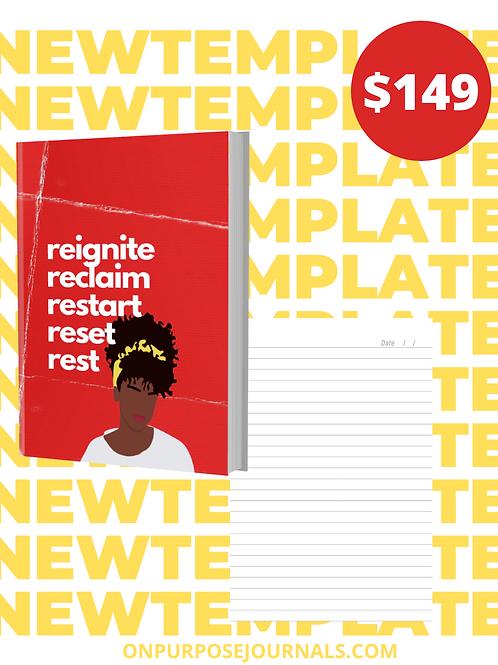 Reignite 6X9 Journal Template
