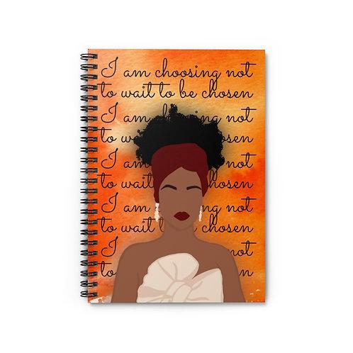 Choosing Me Spiral Journal