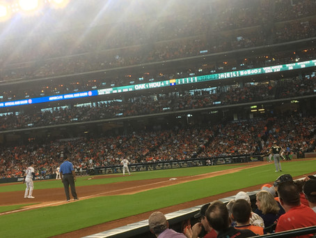Justin Verlander with Another Dominant Performance in Downtown Houston
