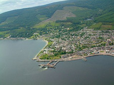 Dunoon From Above