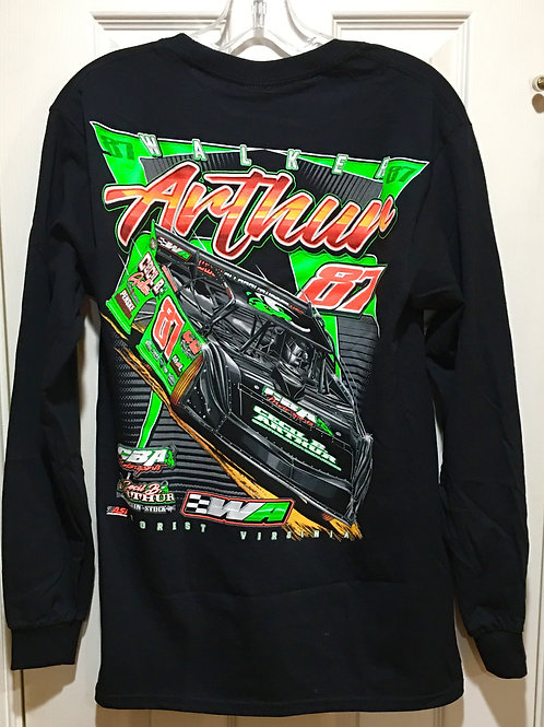 LONG SLEEVED BLACK WA 18 SHIRT