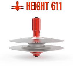 Spinning top toys_raw metal.66-KS-H611-0