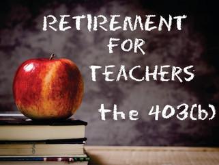 Teachers: Discover the 403(b)