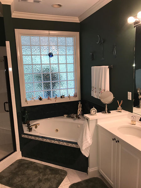Before Bathroom Remodel Outdated Bathroo