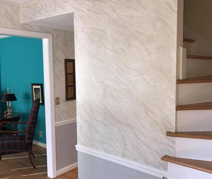 Faux Finish Marble Entry Way Foyer.jpg