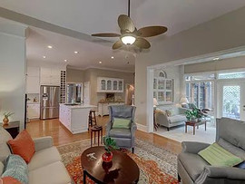 Living Room Design and Home Staging Char
