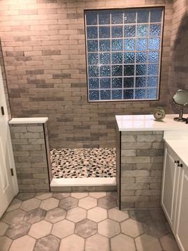 Bathroom Renovation Featuring Beautiful Stonework