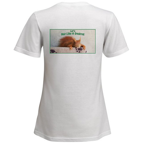 Napping Tintin Shirt - Female