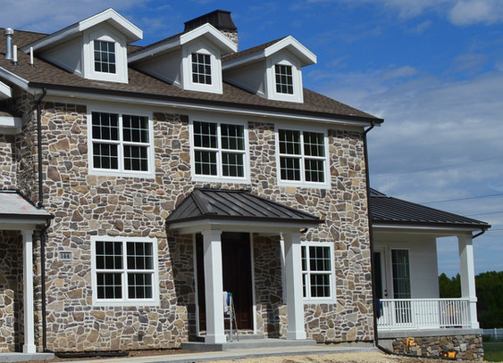 Mix Arcadian Ridgestone & Summit Granite