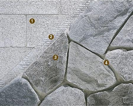 Stone Venee Istallatio Over Masonry