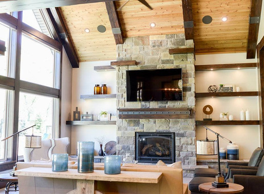 Decorating for Fall: Turn Your Stone Fireplace Into a Masterpiece