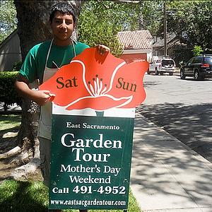 East Sac Garden Tour