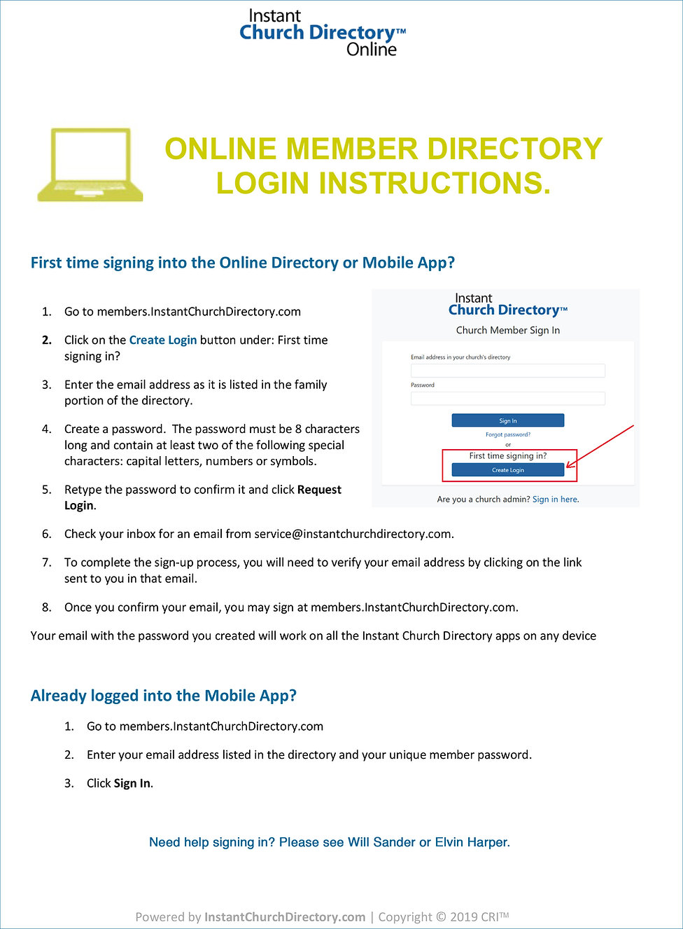 Member-Login-OnlineMemberDirectory-Instr