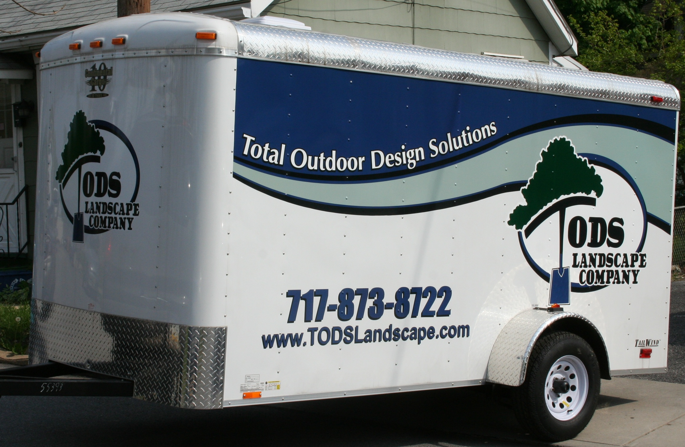 Tods Trailer Wrap
