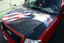 Eagle Hood Wrap