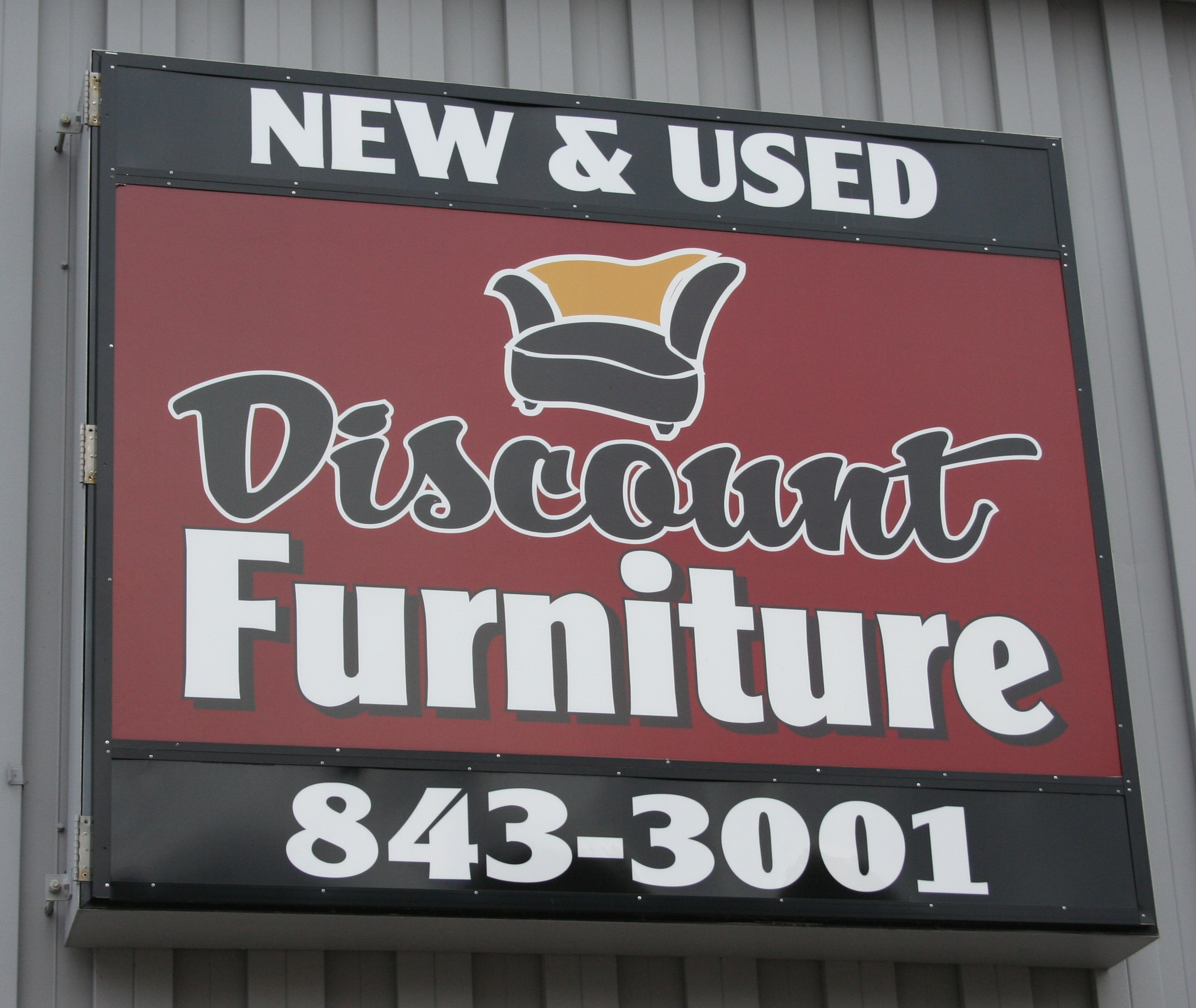 discount furniture sign