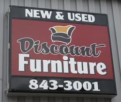 discount furniture sign