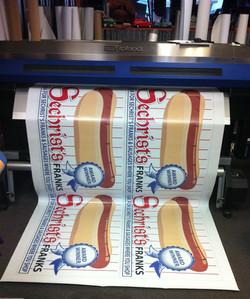 Sechrist Hotdog Banners