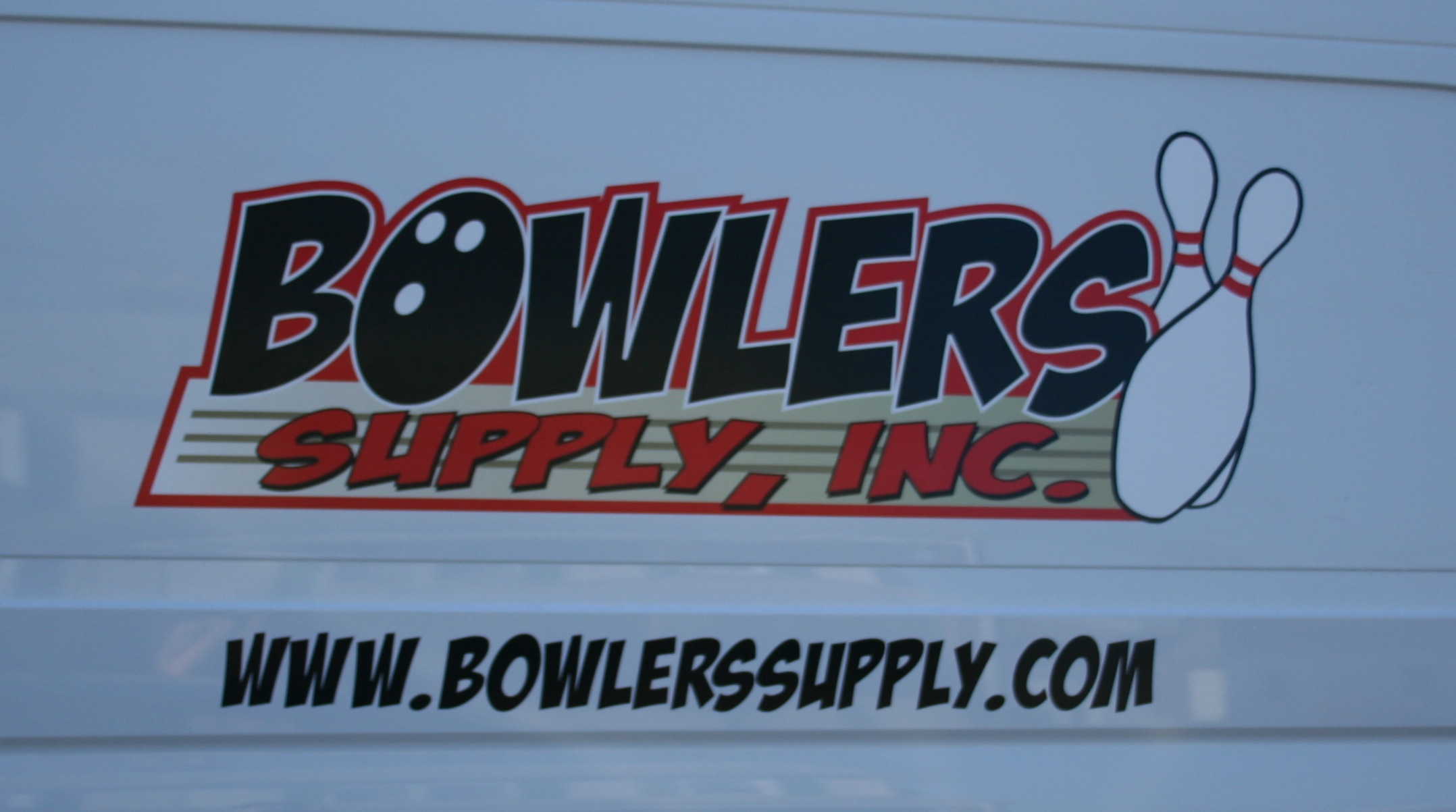 Bowlers Supply Van