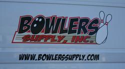 Bowlers Supply Van