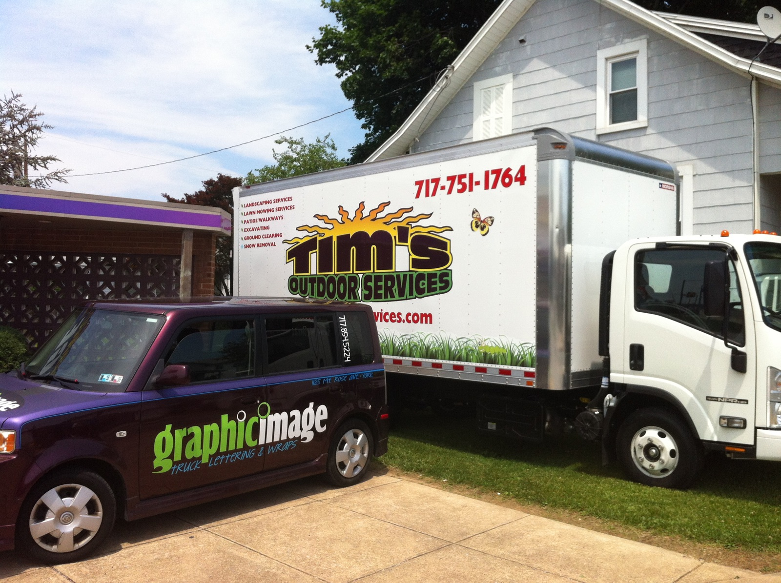 Tim's Outdoor Box Truck