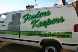 Finders Keepers Van