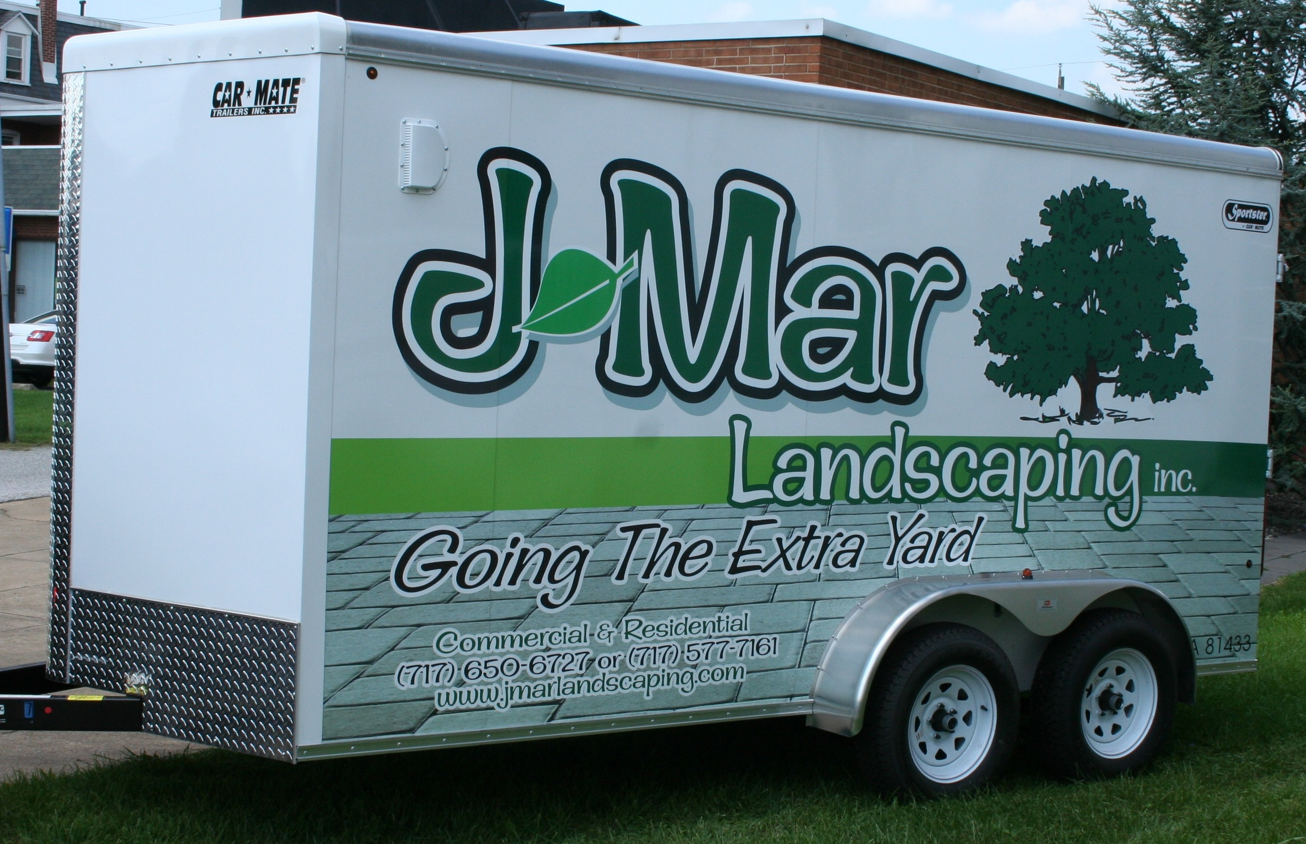 J-Mar Trailer Wrap