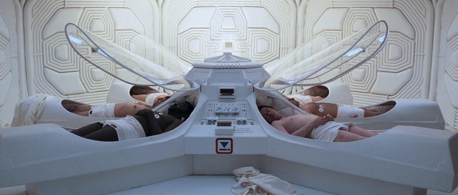 ALIEN'S Perfect Space Coffin