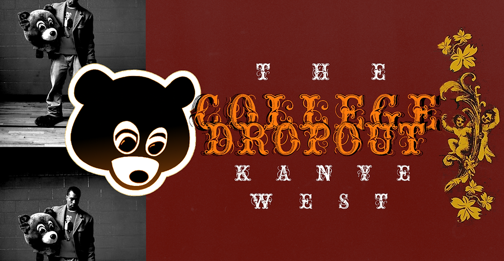 the college dropout kanye west art
