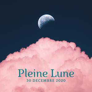 Dernière Pleine Lune de 2020