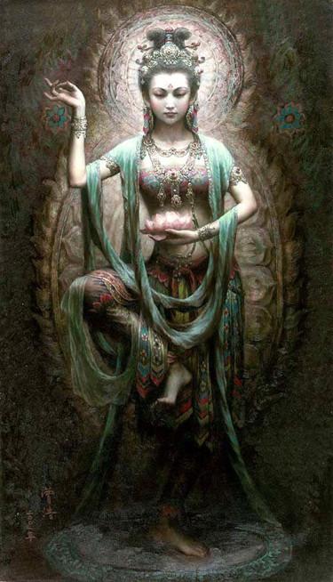 shakti, déesse, inspiration, méditation, inde, art, hippie, vintage, développement personnel, massage, soin énergétique
